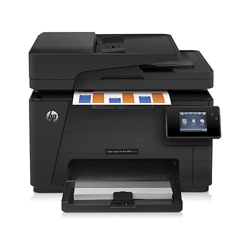 HP LaserJet Pro M177FW Faks + Fotokopi + Tarayıcı + WiFi Renkli Laser Yazıcı CZ165A
